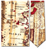 Ancient Egypt Map Necktie - Museum Store Company Photo