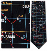 Astronomy, Star Map Necktie - Museum Store Company Photo