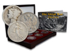 Genuine The Great War Box: 6 Silver Coins from the First World War (WWI) : Authentic Artifact - Museum Company Photo