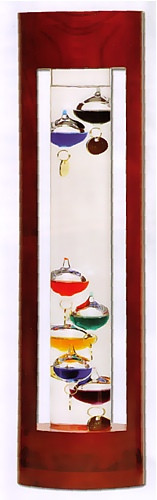 Galileo (Galilean) Thermometer : Galileo Galilei - Physical Science, Physics - Photo Museum Store Company