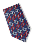 Museum Designs DNA Strand Necktie : Ties, Neckware & Historic Appearal - Photo Museum Store Company