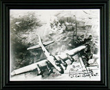 WWII - B-17 Pilot Army Air Corp Aviator Lt. Colonel Truman Smith Autographed Photo Framed - Photo Museum Store Company