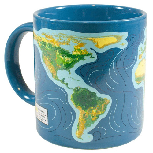 Climate Change Mug - As you Warm Up watch the Earth Warms Up image