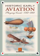 Historic Early Aviation Playing Cards From 17831909 - Photo Museum Store Company