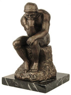 The Thinker by Rodin : The Rodin Museum, Paris, 1881 A.D. - Photo Museum Store Company