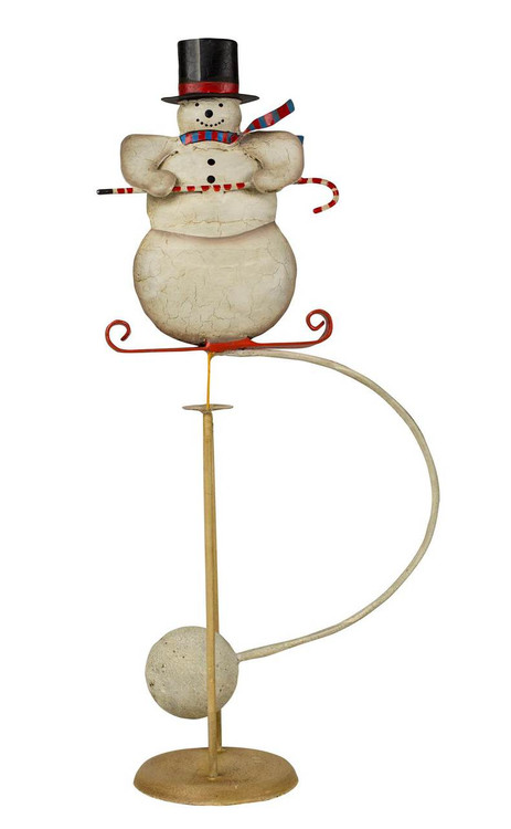 Snowman - Balance Toy - Motion Art and Motion Sculpture - Holiday & Christmas - Photo Museum Store Company