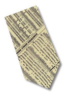 Museum Designs Wall Street Necktie - Photo Museum Store Company