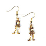 "Degas ""La Petite Danseuse"" Earrings - French, late 19th Century - Photo Museum Store Company"
