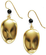 Brancusi Mask Earrings - Constantin Brancusi, 1917, The Museum of Fine Arts, Houston - Photo Museum Store Company