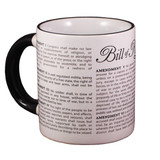 Dissappearing Civil Liberties Mug - Watch your Liberties Dissapear Daily!