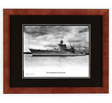 USS Indianapolis at Pearl Harbor Signed by a Survivor Mike Kuryla - Autographed Photo - Photo Museum Store Company
