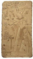 The offering of Maat - Temple of Abydos, Egypt - 1317B.C. - Photo Museum Store Company