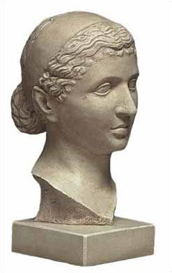 Bust of Cleopatra - Antiken Museum, Berlin. 35 B.C. - Photo Museum Store Company