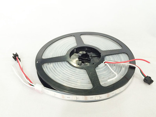 Addressable Sealed WS2812 RGB 30-LED Strip (1 Meter)
