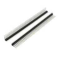 Pin Header Right Angle 90 Degree Bent 1 ROW 40pin Male 2.54mm Single Strip