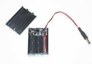 3xAA 4.5V Battery Holder WIth On-off switch and DC Barrel 5.5x2.1mm