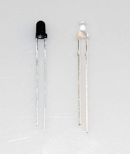 3mm Infrared Emitters and Detectors