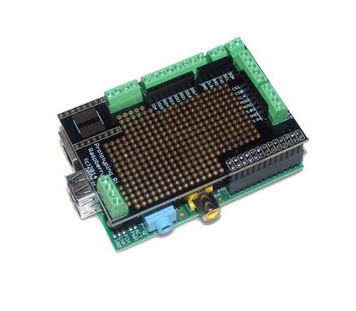 ProtoShield with Screw for Raspberry Pi