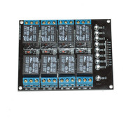 DC 5V Eight Channels Relay Breakout