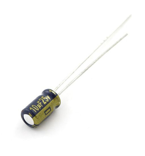 Electrolytic Decoupling Capacitors - 10uF/25V