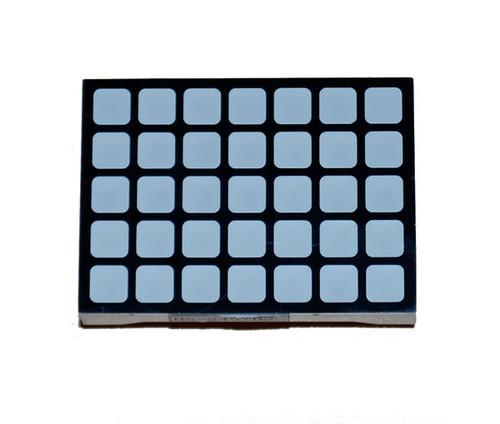 5x7 Square LED Dot-Matrix Display