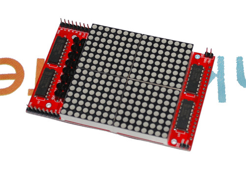 16 X 16 Red LED Matrix Breakout Board