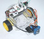 Acrylic Turtle 2WD Mobile Platform for Arduino/pcDuino