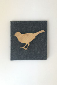 This laser cut Canary brooch, is ideal as a brooch/pin for your outfit, bag, scarf and makes a fantastic gift.