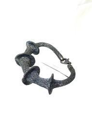 Woven Hand Knit Bracelet BLB147B