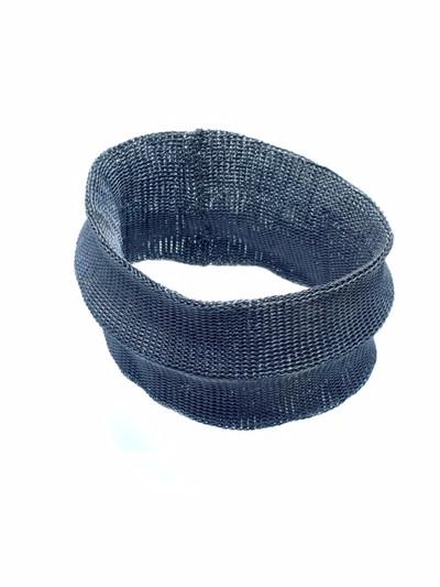 Woven Hand Knit Crease Bracelet BLB16B