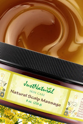 Natural Scalp Massage
