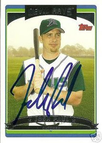 Josh Paul Autographed Tampa Bay Rays 2006 Topps Card
