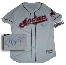 Jason Kipnis Autographed Cleveland Indians Authentic Home Jersey