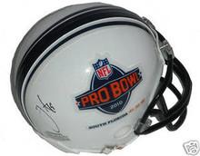 Miles Austin Autographed 2010 Pro Bowl Mini Helmet Browns