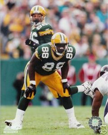 Bubba Franks Green Bay Packers Home Unsigned 8x10 Photo