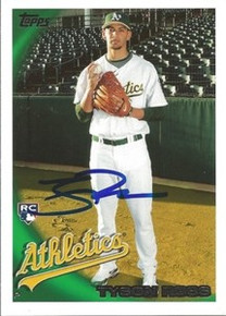 Tyson Ross Signed Oakland A's 2010 Topps Rookie Card