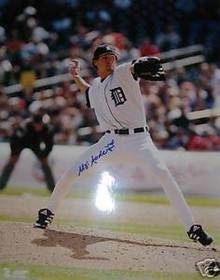 Matt Anderson Autographed Detroit Tigers 16x20 Photo
