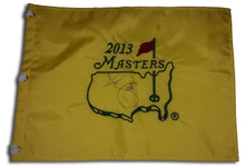Adam Scott Autographed 2013 Masters Tournament Golf Pin Flag
