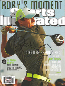Rory McIlroy Autographed 2014 British Open Sports Illustrated 7/28/14