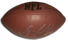 Anquan Boldin Autographed NFL Football San Francisco 49ers