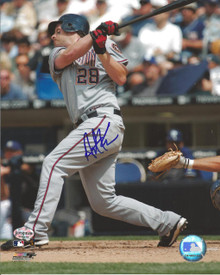 Austin Kearns Autographed Washington Nationals 8x10 Photo