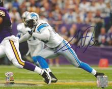 Justin Durant Autographed Detroit Lions Photofile 8x10 Photo