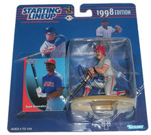 Juan Gonzalez Signed Texas Rangers Starting Lineup Figure