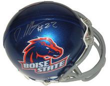 Doug Martin Signed Boise State Broncos Mini Helmet