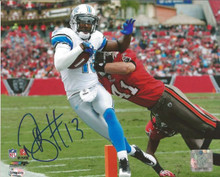 Nate Burleson Signed Detroit Lions Photofile 8x10 Photo