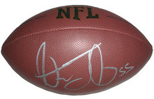 Stephen Tulloch Signed NFL Football Detroit Lions