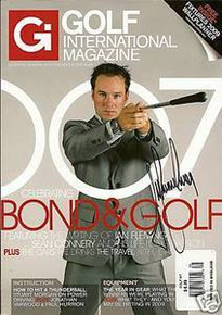 Trevor Immelman Signed Golf International Magazine