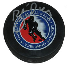 Brett Hull Signed Hall of Fame Hockey Puck Stars Wings