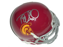 Damian Williams Signed USC Trojans Schutt Mini Helmet