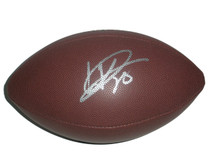 Warrick Dunn Signed NFL Football Tampa Bay Buccaneers